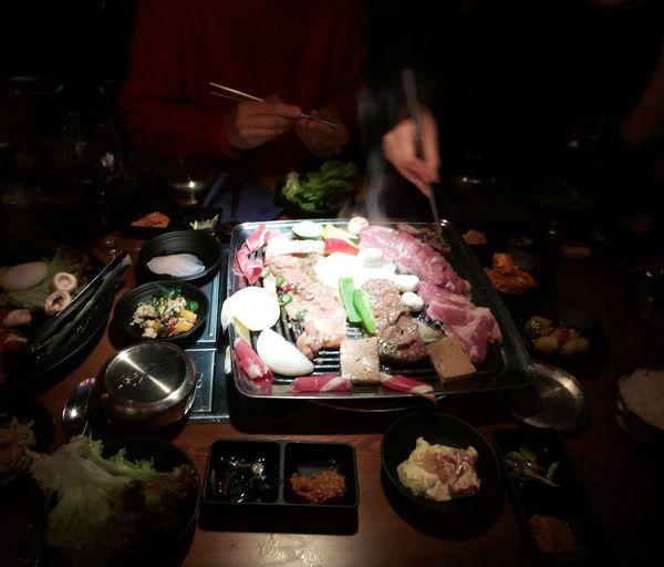 Korean Food BBQ