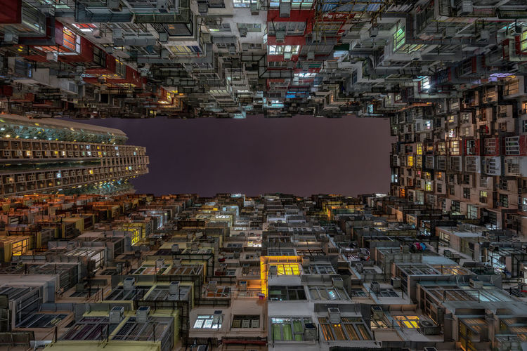 Hong Kong Hong Kong Architecture Quarry Bay Apartment Architecture Building Building Exterior Built Structure City City Life Cityscape Density Of Population Digital Composite Illuminated Modern Nature Night No People Office Building Exterior Outdoors Residential District Skyscraper Tall - High