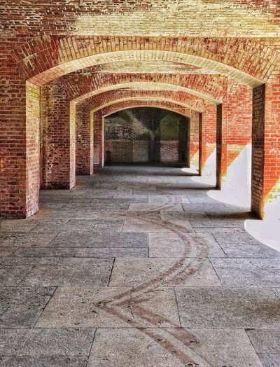 Ft Point arches Historical Building San Francisco Bay San Francisco Architecture Built Structure The Way Forward Indoors  No People Day