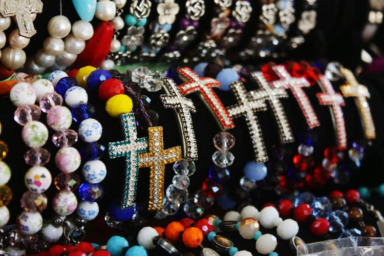 Christianity Faith Divine Mercy Shrine Cagayan De Oro City Bracelet Multi Colored Close-up