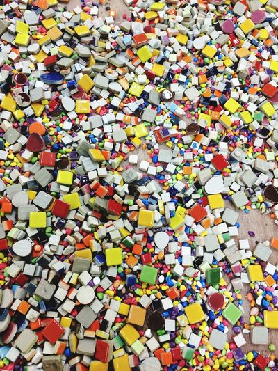Mosaic Tiles Colorful Life With Colors