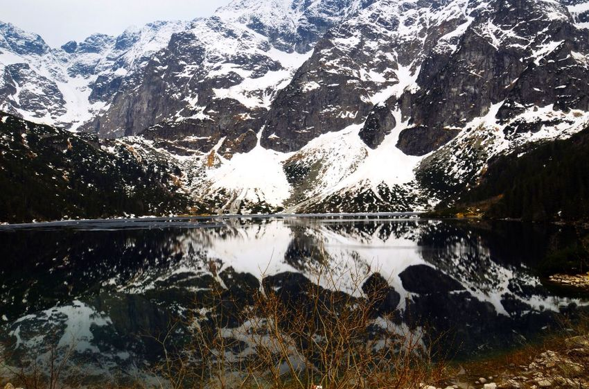 The Great Outdoors - 2016 EyeEm Awards beautiful view on Morskie oko lake in Tatry Tatry Poland Morskieoko Morskie Oko Enjoying Life Hello World Relaxing Calm Tranquility Traveling Tranquil Scene Lake Lakeside Landscape Nature View Trip Mountain Vacation Beauty Breathtaking