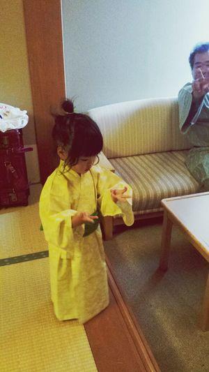 昨日は皆生温泉のある宿に泊まりました ??ゆかた 旅館 Japanese Culture