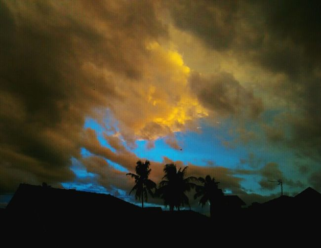The Great Outdoors - 2015 EyeEm Awards Sunset Silhouettes Sunset And Clouds  Viewfrommyroom Subhanallah ♥