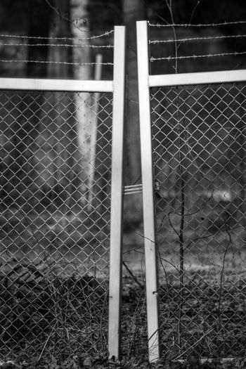 Fence Boundary Barrier Sport No People Security Day Protection Focus On Foreground Chainlink Fence Safety Outdoors Nature Land Field Metal Pattern Close-up Tennis Playing Field