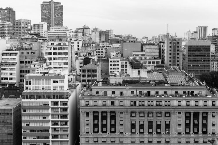 Architecture Building Built Structure City City City Life No People Outdoors Sao Paulo - Brazil