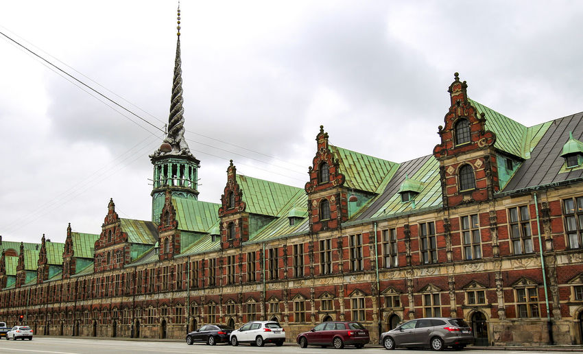 Boersen, Copenhagen, Denmark Architecture Copenhagen, Denmark Historical Building Scandinavia Sightseeing Boersen Boersen Copenhagen Building Exterior Built Structure City Copenhagen Day Europe Historic No People Outdoors