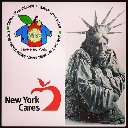 Let's keep New Yorkers warm this winter!!! Coatdrive Allsizes SaturdayJanuary25th2014 Joinus bringacoat freeadmission charitybeginsathome joinus letsgoNewYork staywarm askmehowyoucanhelp illbethere