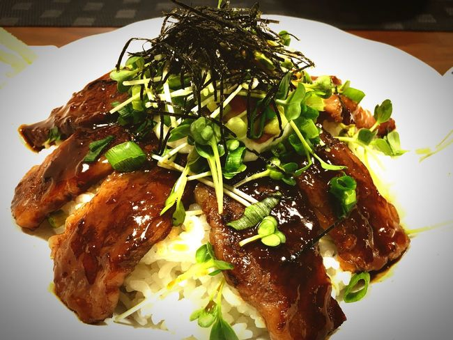 Food Ready-to-eat ステーキ丼!!!