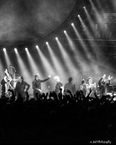 'David Gilmour and his band' live at the Royal Albert Hall, Sept 2015. Davidgilmour Pinkfloyd Live RoyalAlbertHall Concert Music Gig Mypassion England Blackandwhite Photography