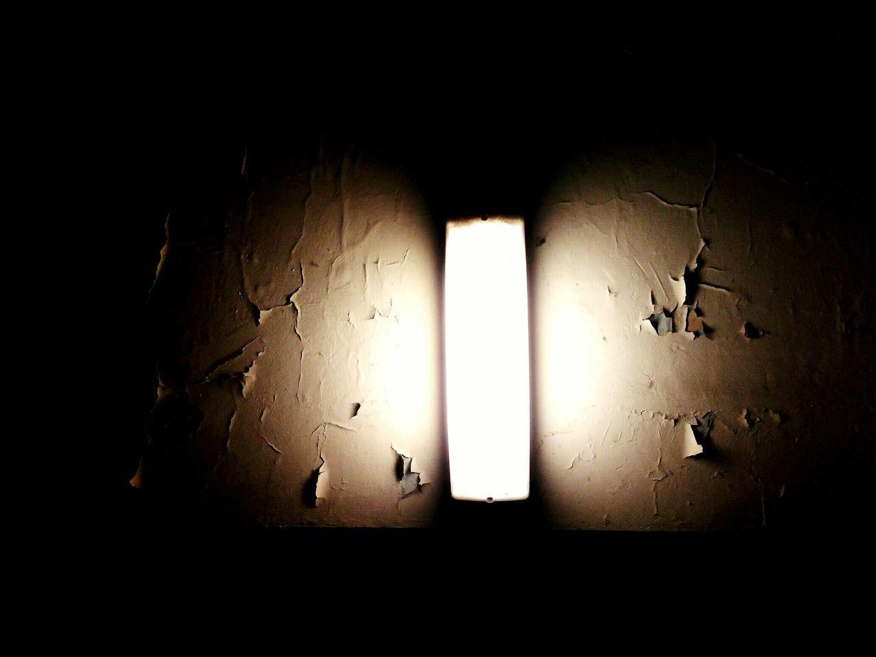 illuminated, dark, indoors, no people, night, architecture, close-up, prison