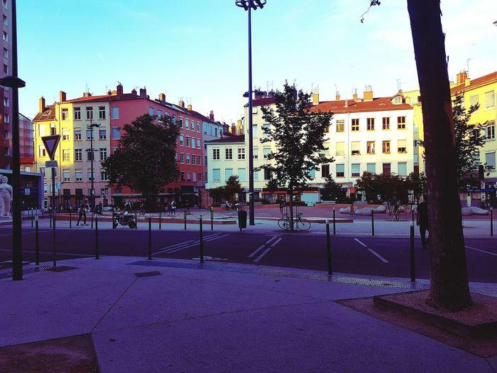 City Street Outdoors Architecture Day Building Exterior Sky Croix Rousse France🇫🇷 Lyon Window Façade Shadow Built Structure