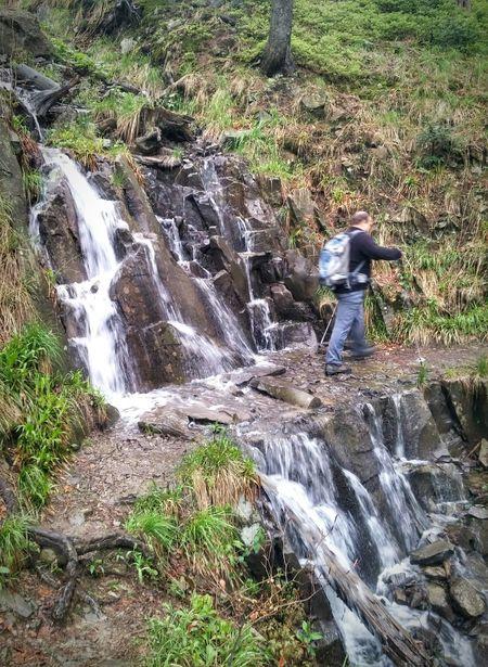 Falls Wodospad Beskidżywiecki Beskidy Hiking