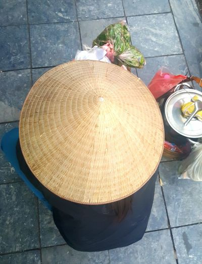 One Person Women Hanoi Street Life