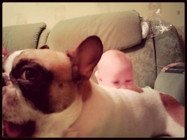 Rim & Nonna I Love My Dog