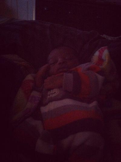 He Been Sleep All Day