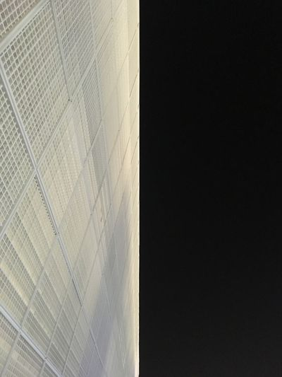 Black'n (w)night @ Louvre Abu Dhabi Architecture Built Structure Building Exterior Modern Low Angle View No People First Eyeem Photo The Graphic City