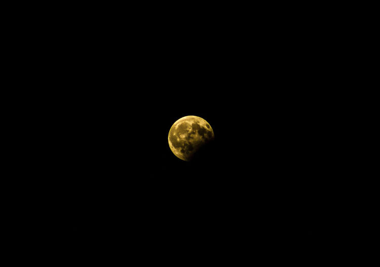 Moon Night Astronomy Nature Beauty In Nature Scenics No People Low Angle View Space Exploration Half Moon Space Outdoors Sky Close-up Eclipse Eclipse2017 7 August Moonlight Mooneclipse Moon Eclipse