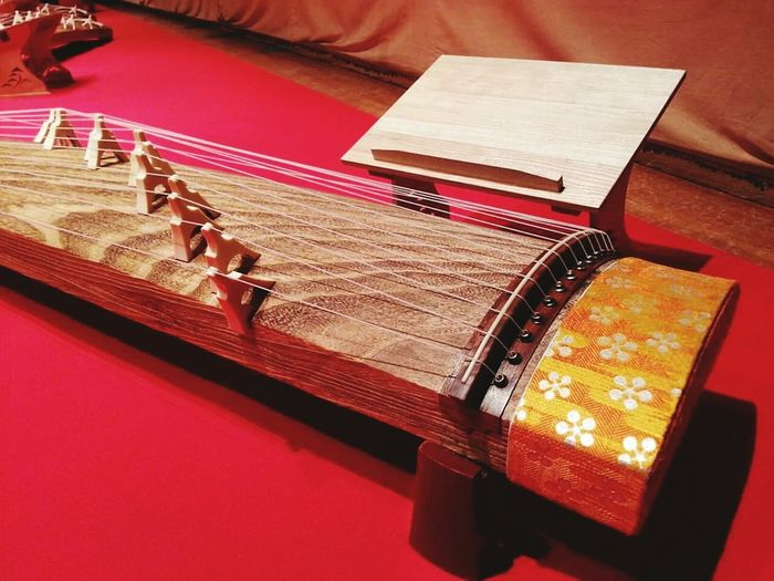 私の趣味です。 Indoors  Music Musical Instruments Music Koto Japanese Style Japanese Culture Japanese Traditional