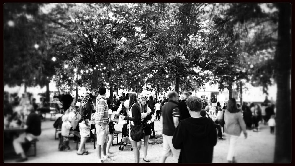 Fete De La Musique Hanging Out Streetphotography Monochrome