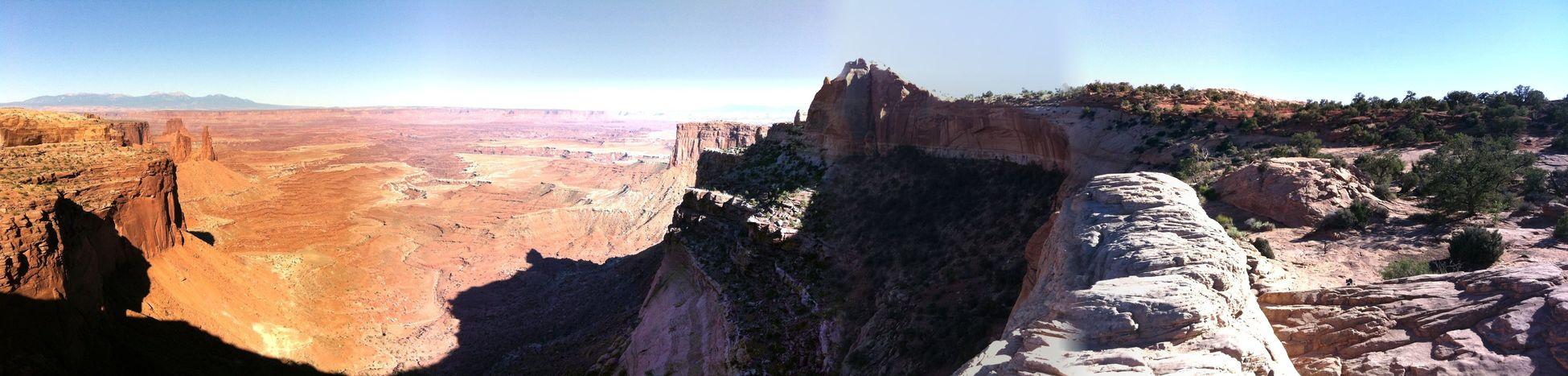 Canyonlands, USA IPhone4 Pano