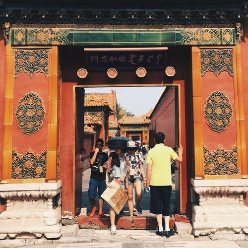 History Building Exterior Historical Building Forbidden City EyeEm Best Shots EyeEm Best Edits Vscochina Travel Architecture Tourist Beijing 北京 China 中国 BEIJING北京CHINA中国BEAUTY