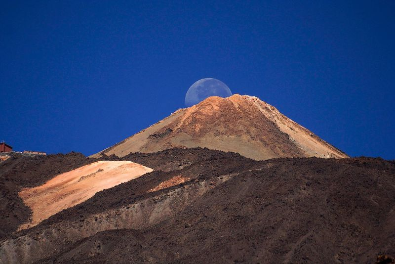 Landscapes With WhiteWall Moon