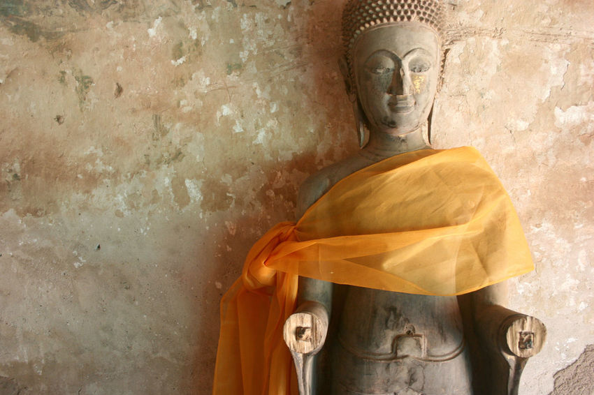 Handless Buddah. Vientiane, Laos. Buddah Vientiane, Laos Close-up Day Human Representation Indoors  No People Religion Sculpture Spirituality Statue