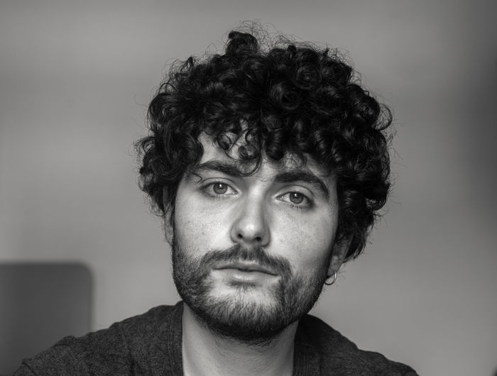 Instagram : anto_v9 Bw Photography Portrait Front View Headshot Looking At Camera Beard One Person Facial Hair Close-up Indoors  Young Men Young Adult Lifestyles Real People Men Looking Studio Shot Leisure Activity Human Face Hairstyle Eyebrow Selfie Self Portrait Selfportrait Boy Boys Boystyle Curly Hair Grey Blackandwhite Black & White Shadow Light Shadows & Lights 50mm F1.8 50mm Nikon Nikond3300 Lipstick Lips Eyesight Smile Man Photography Photographer Shot Curlyhair