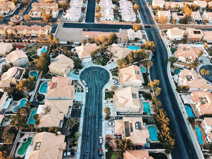 Las Vegas Street Las Vegas Blvd Las Vegas Dronephotography Drone Moments Droneshot Streetphotography City View  Full Frame Backgrounds Pattern No People Multi Colored Day Wall - Building Feature Art And Craft Outdoors Built Structure Architecture City