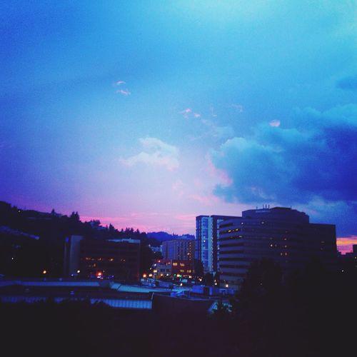 Purple sunset west hills Portland Portland, OR Sunset
