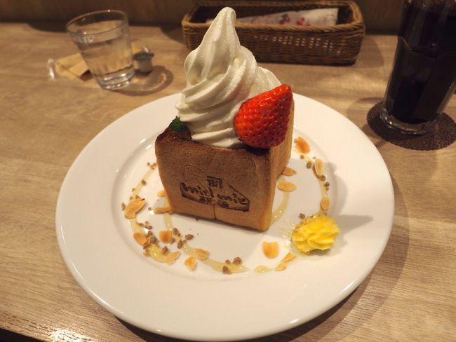 Kyoto Japan Kawaramachi Miel Mie Ice Cream Toast Honey Delicious Olympus PEN-F 京都 日本 河原町 蜂蜜かけ放題 激ウマ アイスクリーム トースト 蜂蜜専門店 蜂蜜