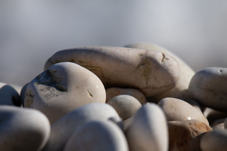 No People Close-up Pebble Stone - Object Large Group Of Objects Selective Focus Solid Stone Still Life Food Food And Drink Rock Group Of Objects Abundance Wellbeing Nature Freshness Indoors  Healthy Eating Day Pier Galets Galette Plage