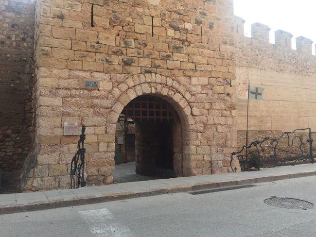 Puerta de Sant Jordi en Montblanc