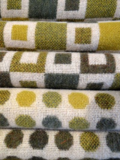 Melin Tregwynt Backgrounds Close-up Day Full Frame Indoors  No People Pattern Pembrokeshire Textile Welsh Wool Blanket Yellow Wool Wool Material Woolen