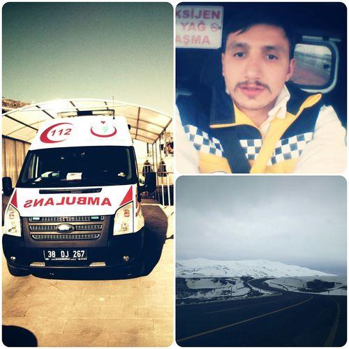 112 Acil Emergency Firstresponder Working Ambulans Ambulance Accident Erciyes Kayseri
