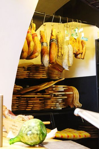 #ham#prosciutto Food EyeEm Best Shots EyeEmNewHere EyeEm Nature Lover Eye4photography  EyeEm Gallery Streetfood Worldwide Italy Streetfoodfestival Bassiano Ham Hanging Ciboitaliano Prosciutto Salami Visual Creativity