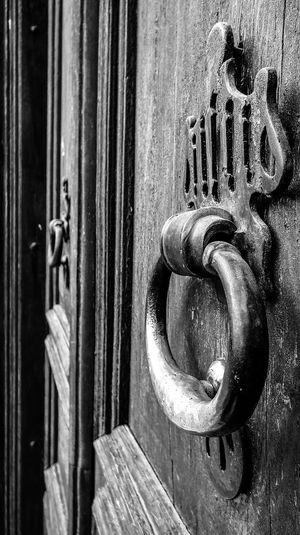 Door Close-up No People Backgrounds Metal Outdoors Doorknob Antique Antiquedoors Antique Building Domestic Ottoman Style Ottaman Street Tophane Bursa / Turkey