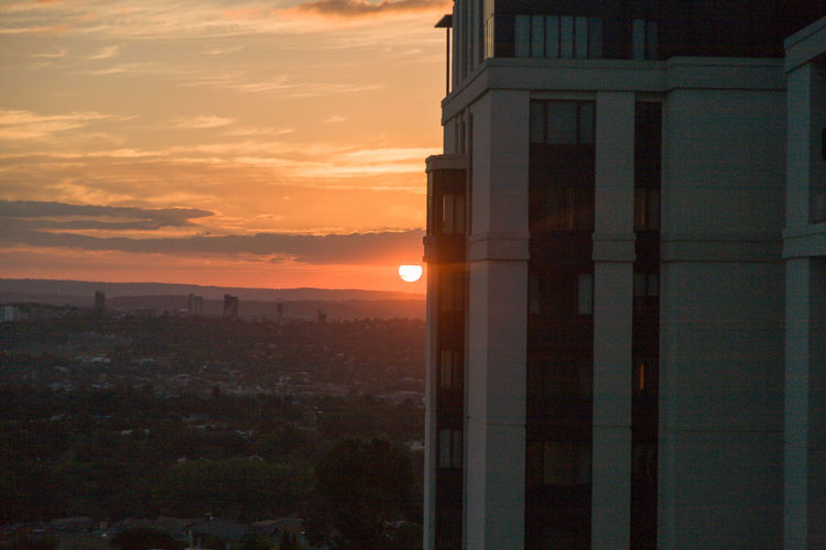 Classic Joburg sunset Architecture Beauty In Nature Building Exterior Built Structure BYOPaper! Cloud - Sky Day Nature No People Orange Color Outdoors Sky Sunset