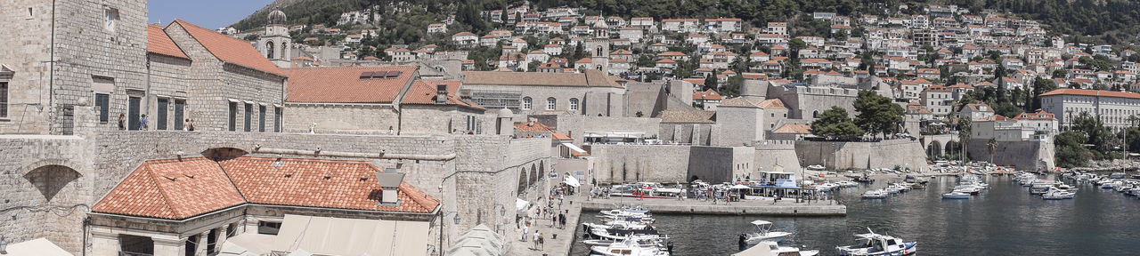 Dubrovnik, Croatia Harbour Old Town, Dubrovnik. Architecture City Nautical Vessel Town
