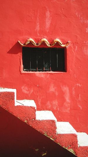 ups and downs Built Structure Architecture Red Window Outdoors Day Summer House Croatia Town WallpaperForMobile Canon