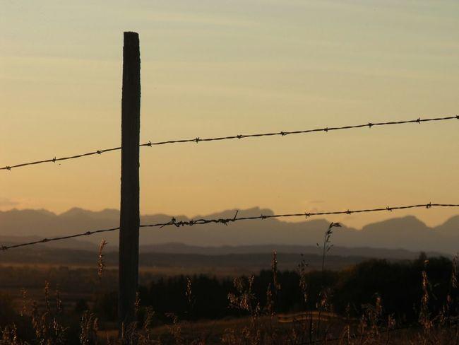 TGI Fence Post Friday Prairie Alberta Getting Inspired Mountains Canadian Rockies  EyeEm Nature Lover EyeEm Sky Lover