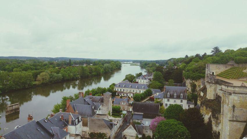 Viewfromthecastle Exterior View Taking Photos Relaxing Enjoying Life Amboise Chateaux De La Loire Viewofthecity Laloire Loire Fleuve Indreetloire Maison House