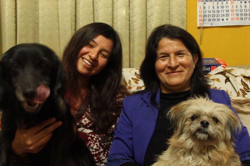 Una familia llena de vida Chubs Nanush