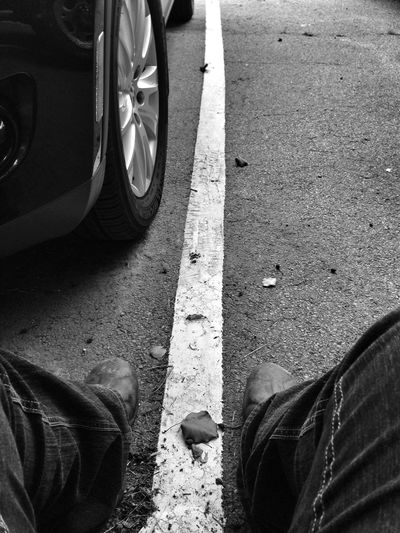 Blackandwhite Monochrome Boots and Jeans Break Muck Light And Shadow