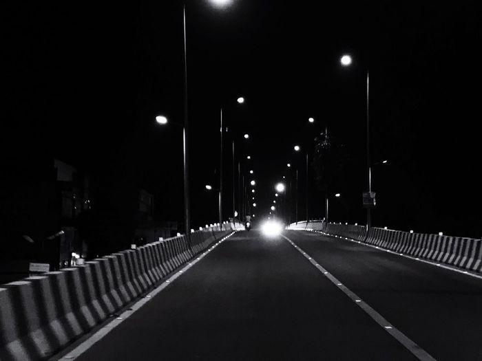 Outdoors Illuminated Night Street Light The Way Forward Lighting Equipment Road Transportation No People City Utkarsh Agarwal