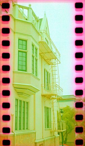 Architecture Sprockets Lubitel 166+ Film Building Exterior Built Structure Residential Building No People Outdoors House Koduckgirl