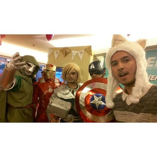 Are you ready for The Avengers? EFHello50 EFSuperheroDay HFNationalDay EFEnglishFirst EFEducationFirst