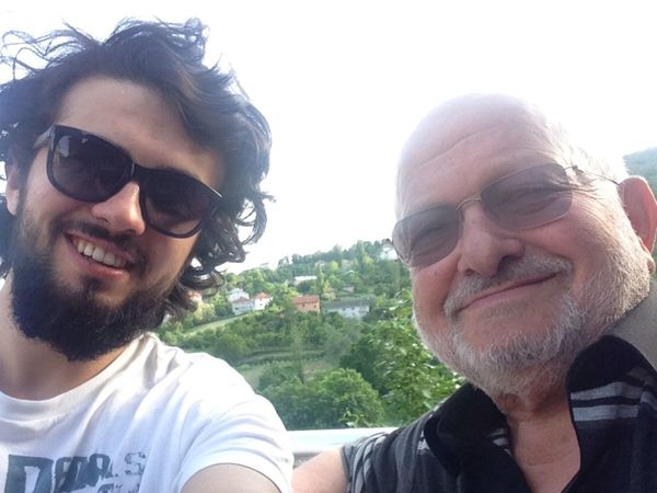 Grandpa And Me :)  çok datlı Dedem