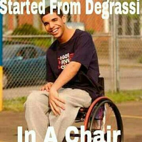 this is how it should have went lmao #degrasi #drake